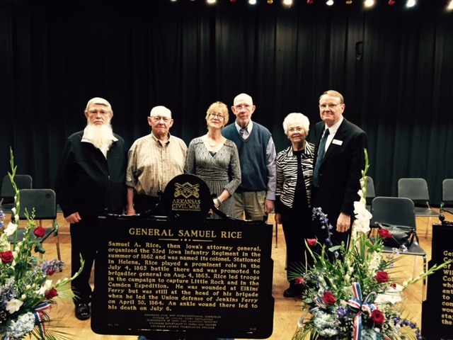 Dedication Ceremonies of Seven Historical Markers