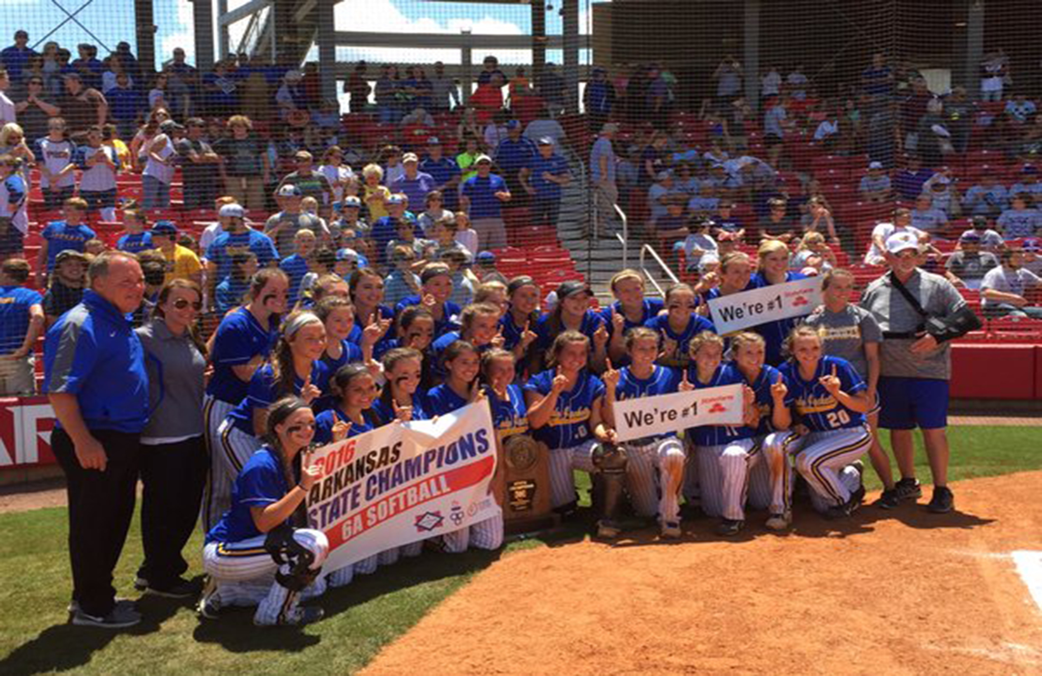 Lady Jackets Bring Home Softball State Title