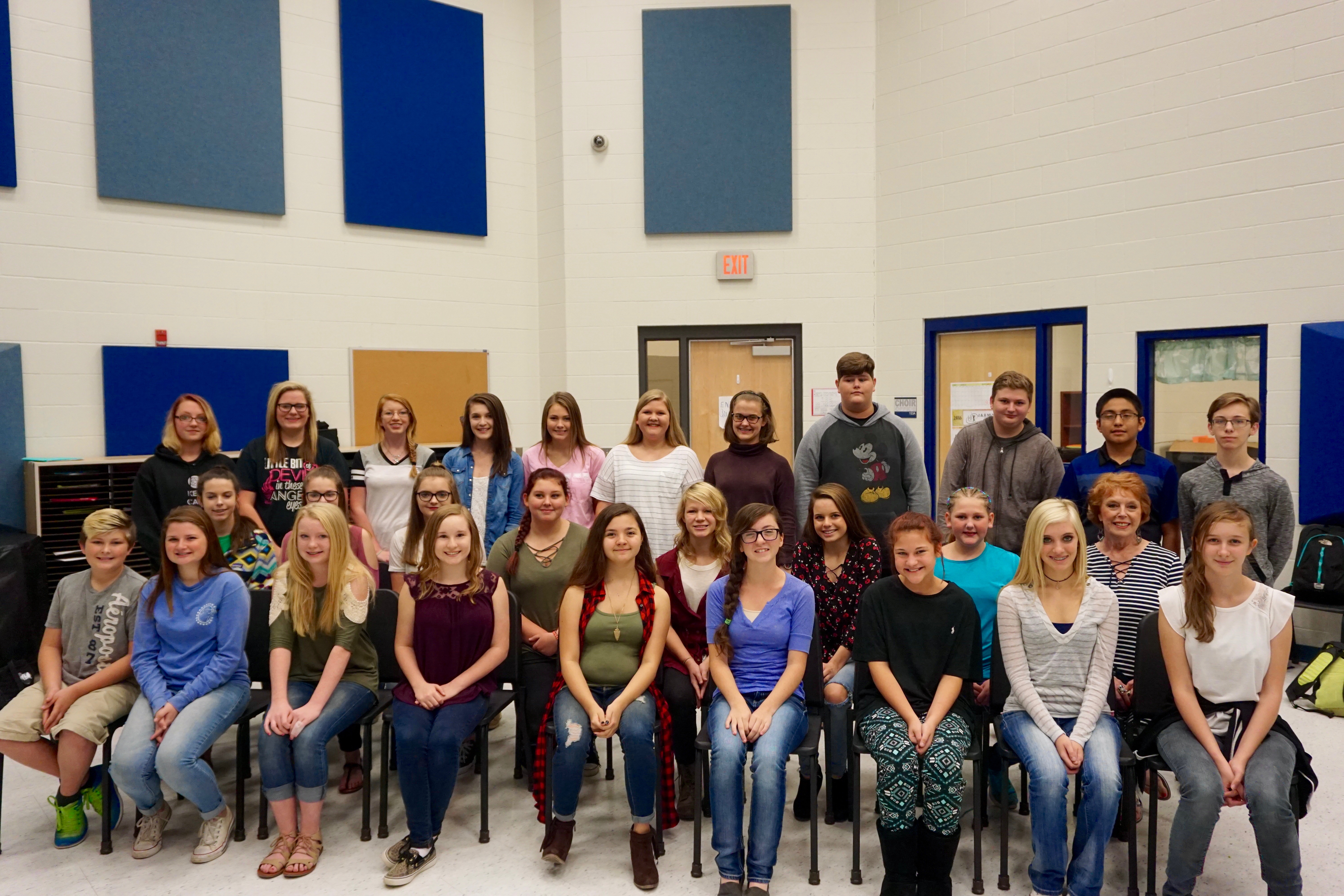 29 SJHS Students Place in All-Region Choir