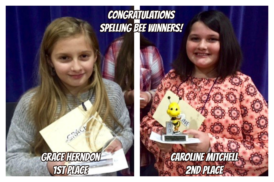 Congratulations to These Spelling Bee Winners!